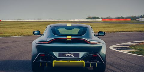 The 2020 Aston Martin Vantage AMR and Vantage 59 both come with a 4.0-liter twin-turbo V8.