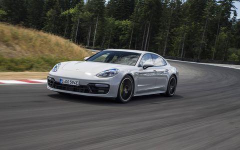 2018 Porsche Panamera Turbo S E-Hybrid Track