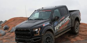 The 2017 Raptor gets a 450-hp twin-turbocharged EcoBoost V6.