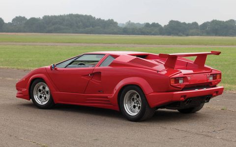 "The Countach truly hit its stride in 1978, when its beefy fiberglass flares and Campagnolo Bravo ""telephone-dial"" wheels set the template for the next 10 years."