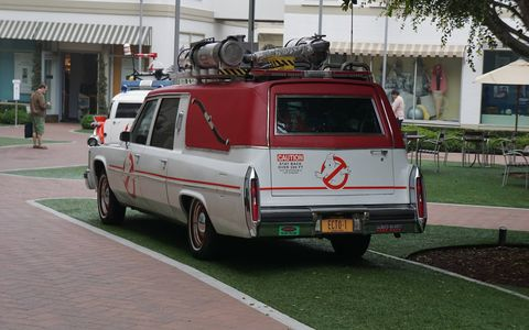 The Caddy was in pretty good shape considering all the ghosts it busted in filming.