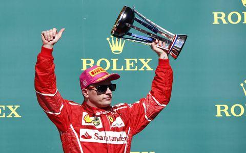 Kimi Raikkonen. Ferrari