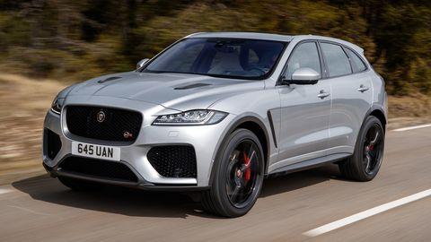 Land vehicle, Vehicle, Car, Luxury vehicle, Automotive design, Performance car, Motor vehicle, Mid-size car, Sport utility vehicle, Jaguar,