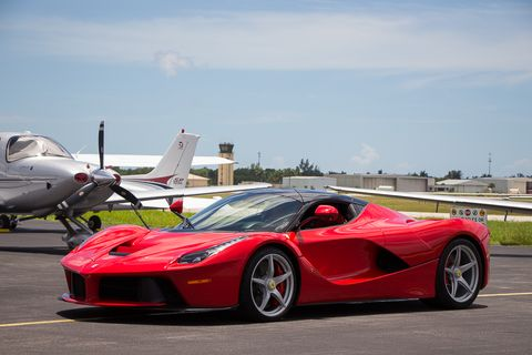 2015 was the final model year for the original production run of the LaFerrari.