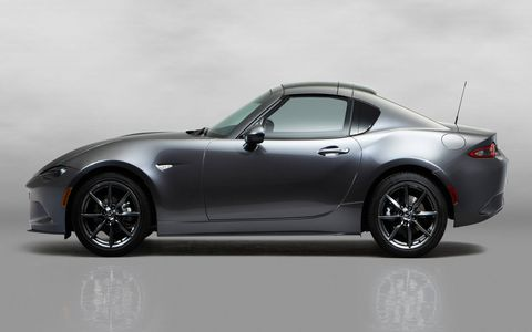 The retractable-hardtop Mazda MX-5 is finally ready for preorders.