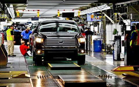 Toyota's San Antonio, Texas Truck Plant