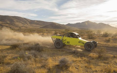 This VW-powered Class 9 buggy is fun to drive, if a little crude.