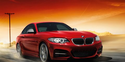 The 2014 BMW M235i Coupe speaks for itself.