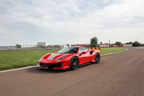 The 2019 Ferrari 488 Pista has the most powerful V8 engine the company has ever produced.