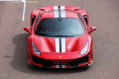 2019 Ferrari 488 Pista Exterior.