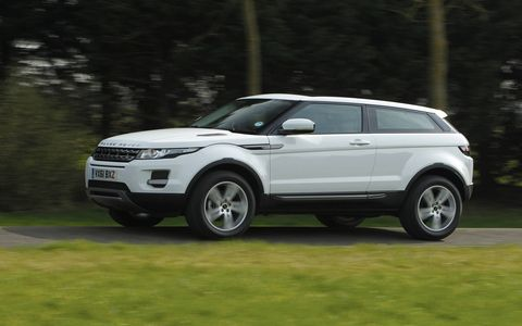 The 2015 Land Range Rover Evoque Pure Premium will feature the 2.0-liter turbocharged I4 engine.