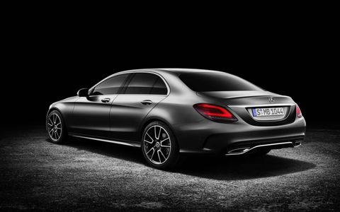 The 2019 Mercedes Benz C300 received a refresh for 2019