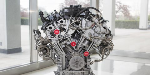 Ford engineers designed the new 3.5-liter EcoBoost engine to provide better low-end and peak engine performance.