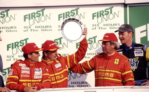 Didier Theys had a long and successful racing career before becoming Head Coach of the Ferrari Challenge race car series