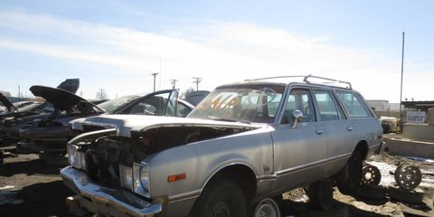 With the rust, not worth restoring. In 20 more years, though, it might have been worth something.