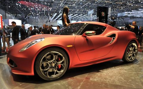 The Alfa Romeo 4C concept