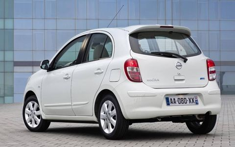 The Nissan Micra DIG-S