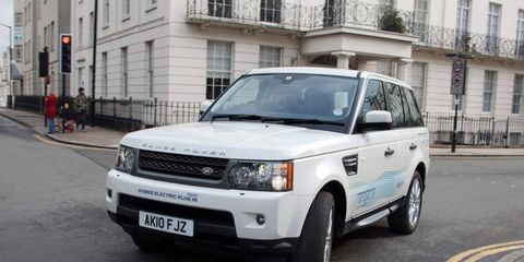 The Land Rover Range-e