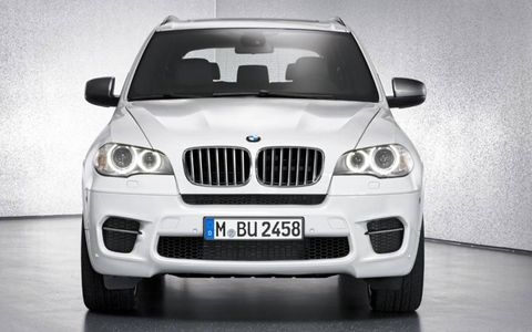 BMW threw a diesel in its X5M for the Geneva show.