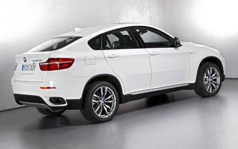 BMW brought the X6 M50d to the Geneva show.