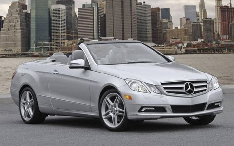 Flash Drive: 2011 Mercedes Benz E350 Cabriolet