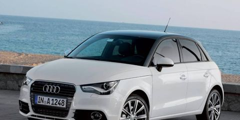 Audi showed off the A1 quattro at the Geneva motor show
