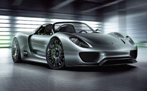 Geneva Auto Show: Porsche 918 Spyder Hybrid