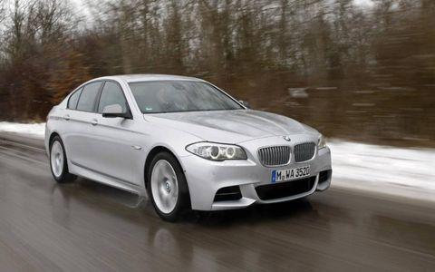 BMW is bringing the M550d xDrive sedan to the Geneva motor show