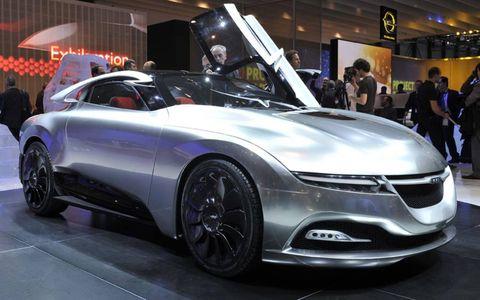The Saab PhoeniX concept
