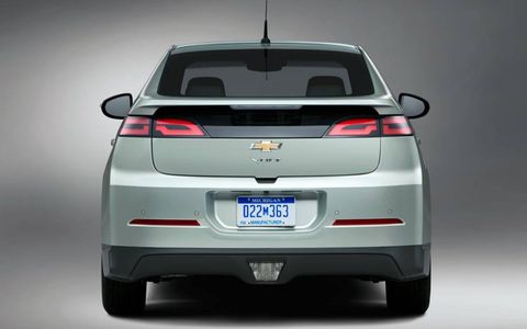 Fuel economy numbers for the 2013 Chevrolet  Volt are 93 mpg-e in all-electric mode, 37 mpg in gas-only mode and 60 mpg-e combined.
