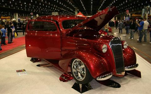 1937 Chevy Master Deluxe owned by Sue and Bill Keck from Dubuque, Iowa