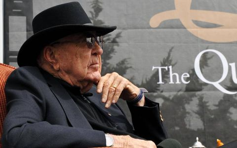 Carroll Shelby was honored at the Quail, A Motorsports Gathering in August 2010.