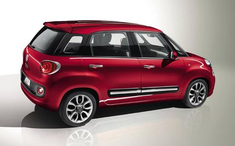 Fiat brought the larger version of its 500 to the Geneva motor show in March.