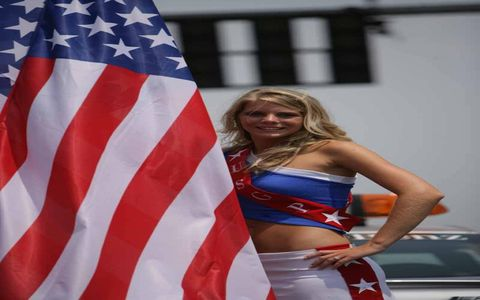 """Why is there a patriotic gallery in early March? Because today, March 3, 1931, """"The Star Spangled Banner"""" became the United States national anthem. Who said you couldn't learn anything from Grid Girls!"""