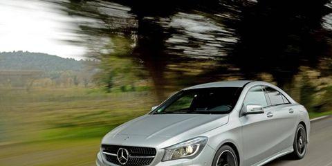 Mercedes CLA-Class Looks Classy