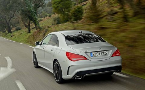 Mercedes CLA-Class Looks Classy from all angles