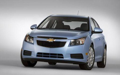 The 2011 Chevrolet Cruze Eco