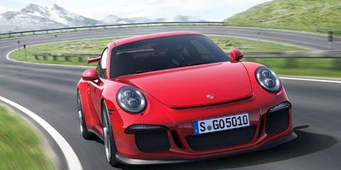 Porsche introduced the 2014 911 GT3 at the Geneva motor show.