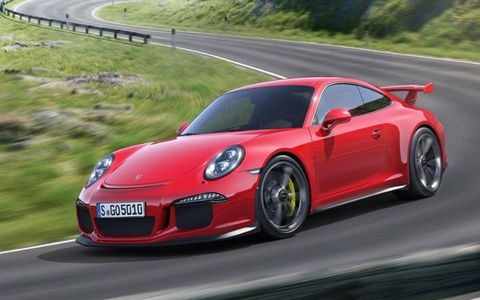 For the first time, Porsche is offering rear-wheel steering.