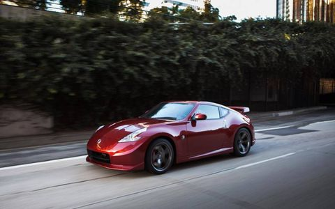 The 2013 Nissan 370Z Nismo gains an additional 18 horsepower from the previous 332 to 350.
