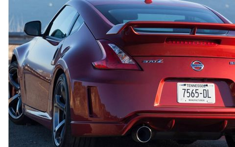 With a beefed up suspension, the 2013 Nissan 370Z Nismo is able to grip the road.