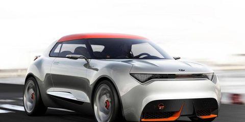 The Kia Provo debuted at the Geneva motor show.