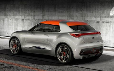 The Kia Provo has a 1.6-liter turbocharged engine.