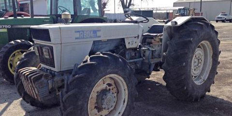 Form follows function with this 1973 Lamborghini R804DT tractor.