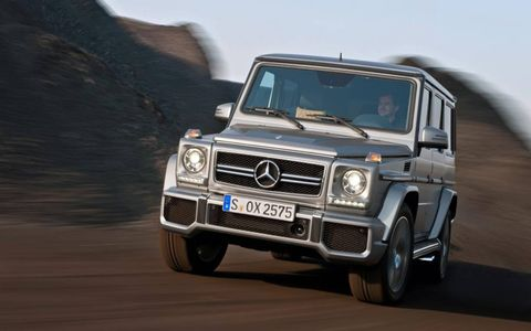 At $137,505, our 2013 Mercedes-Benz G63 AMG tester was pricey, but it was so fun to drive.