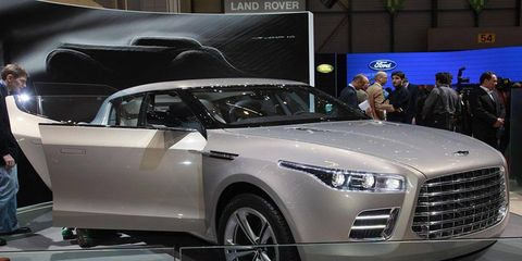 Big, brash and bold, Aston Martin pulled the wraps off a super-luxury $210,000 Lagonda SUV at the Geneva motor show with plans to relaunch a brand that's been dormant since the 1990s. With styling that mixes a modern, BMW-look front end with a retro rear-end based on a classic 1930's Lagonda, the 204.7-inch-long SUV possesses plenty of presence.