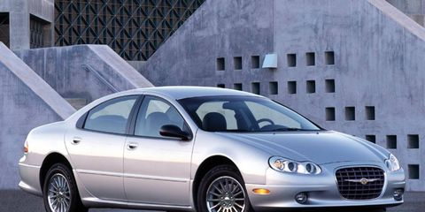 Chrysler's LH platform underpinned the Dodge Intrepid, Eagle Vision, and the 300M