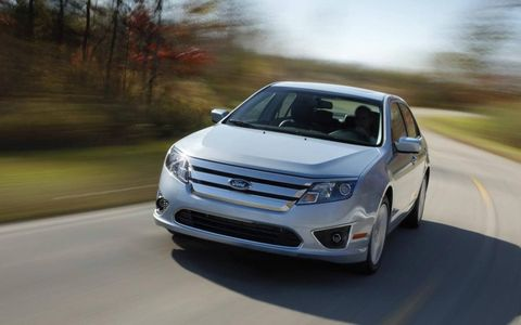 The 2011 Ford Fusion Hybrid