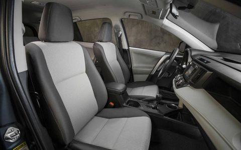 The base 2013 Toyota RAV4 LE.