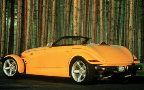 The Prowler was based on the 1993 concept of the same name